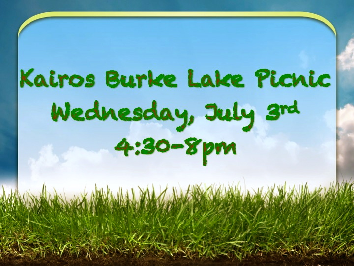 Kairos Burke Lake Picnic & Other Events