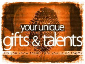 your unique gifts and talents_t