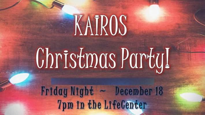 Kairos Christmas Party 12.18.15